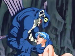 Anime actress deepthroating and squirting squirting hole juice