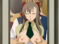 Nymph licks Dark Yugi and gets loaded with jizz