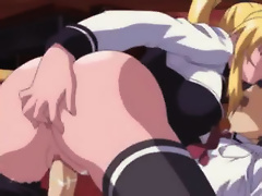 Busty Millie with huge melons was boned by Anime Dude